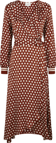 Bilde av Spotty Wrap Dress