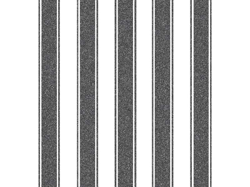 Bilde av SERVIET 'BIG STRIPE' BLACK 50 STK. 40X40CM